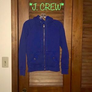 🦋🐑J.CREW🐑🦋Sherpa lined zip up SMALL